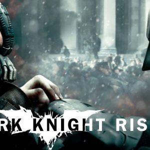 Bane and Batman Dark Knight Rises